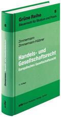 Zimmermann / Zimmermann-Hübner    Handels- und Gesellschaftsrecht   Buch    Sack Fachmedien