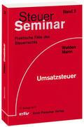 Walden / Mann    Umsatzsteuer   Buch    Sack Fachmedien