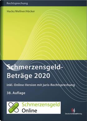 Hacks / Wellner / Häcker | SchmerzensgeldBeträge 2020 | Buch | sack.de