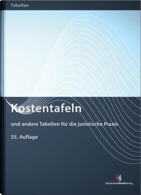 Kostentafeln   Buch   sack.de