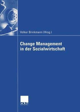 Brinkmann | Change Management in der Sozialwirtschaft | Buch | sack.de