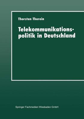 Telekommunikationspolitik in Deutschland | Buch | sack.de