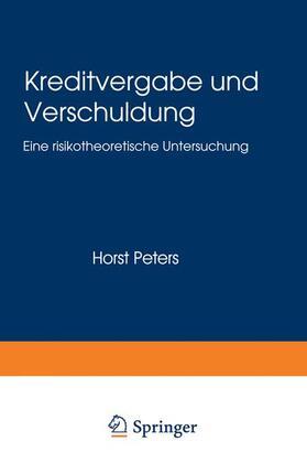 Kreditvergabe und Verschuldung   Buch   sack.de