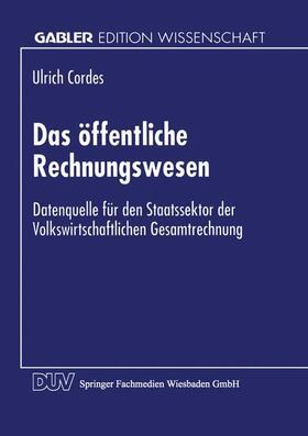 Das öffentliche Rechnungswesen | Buch | sack.de