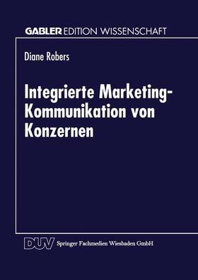 Integrierte Marketing-Kommunikation von Konzernen   Buch   sack.de