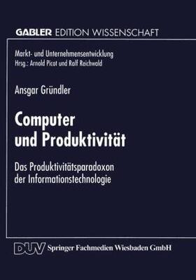 Computer und Produktivität | Buch | sack.de