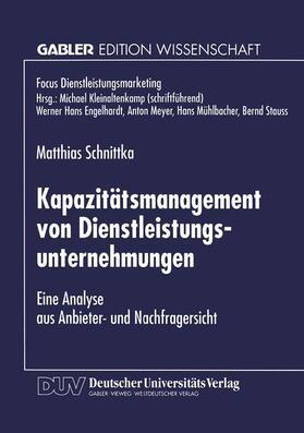 Kapazitätsmanagement von Dienstleistungsunternehmen | Buch | sack.de