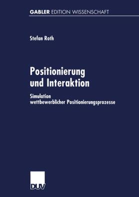 Positionierung und Interaktion   Buch   sack.de