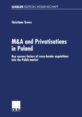 Tewes   M & A and Privatisations in Poland   Buch   sack.de