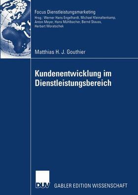 Gouthier   Kundenentwicklung im Dienstleistungsbereich   Buch   sack.de