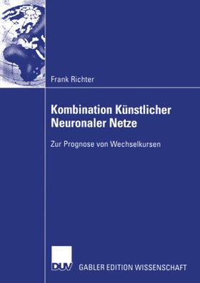 Richter   Kombination Künstlicher Neuronaler Netze   Buch   sack.de