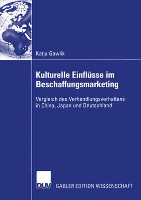 Gawlik | Kulturelle Einflüsse im Beschaffungsmarketing | Buch | sack.de