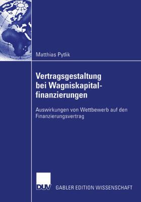 Pytlik   Vertragsgestaltung bei Wagniskapitalfinanzierungen   Buch   sack.de