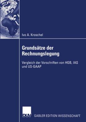 Kroschel   Grundsätze der Rechnungslegung   Buch   sack.de