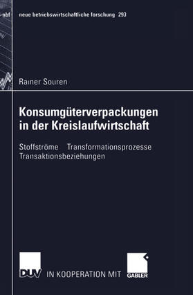 Souren | Konsumgüterverpackungen in der Kreislaufwirtschaft | Buch | sack.de