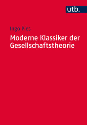 Pies | Moderne Klassiker der Gesellschaftstheorie | Buch | sack.de