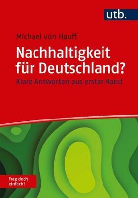 von Hauff | Nachhaltigkeit für Deutschland? Frag doch einfach! | Buch | sack.de