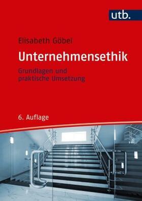Göbel   Unternehmensethik   Buch   sack.de