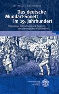 Hänselmann    Das deutsche Mundart-Sonett im 19. Jahrhundert   Buch    Sack Fachmedien