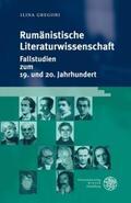 Gregori |  Rumänistische Literaturwissenschaft | Buch |  Sack Fachmedien