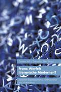 Voß / Zilles |  Franz Werfels literarische Modernen? | Buch |  Sack Fachmedien