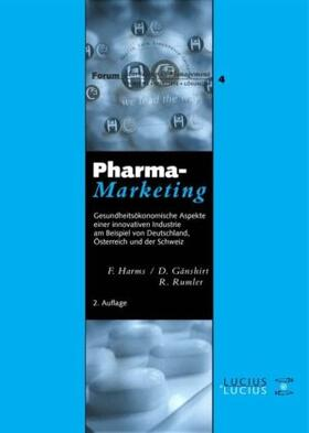 Harms / Gänshirt / Rumler | Pharmamarketing | Buch | sack.de