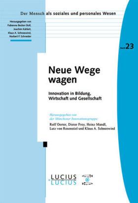 Oerter / Frey / Mandl | Neue Wege wagen | Buch | sack.de