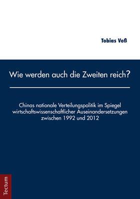 Voß | Wie werden auch die Zweiten reich? | Buch | sack.de