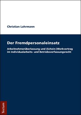 Lahrmann | Der Fremdpersonaleinsatz | Buch | sack.de