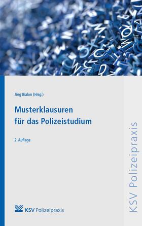 Bialon | Musterklausuren für das Polizeistudium | Buch | sack.de