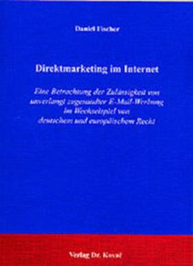 Fischer | Direktmarketing im Internet | Buch | sack.de