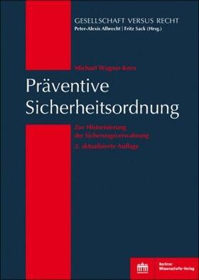 Wagner-Kern | Präventive Sicherheitsordnung | Buch | sack.de