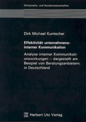 Kuntscher   Effektivität unternehmensinterner Kommunikation   Buch   sack.de