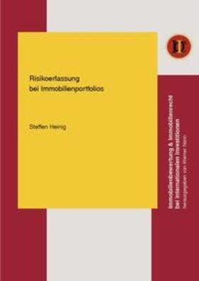 Heinig | Risikoerfassung bei Immobilienportfolios | Buch | sack.de