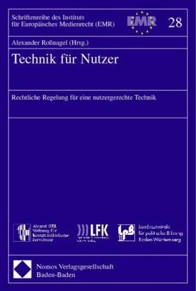 Roßnagel | Technik für Nutzer | Buch | sack.de