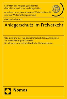 Schwartz   Anlegerschutz im Freiverkehr   Buch   sack.de