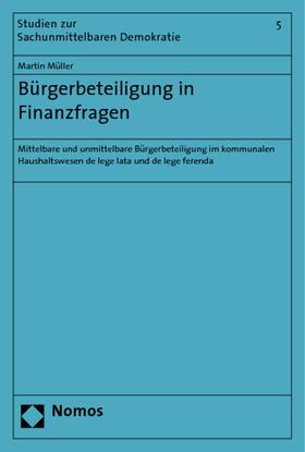 Müller   Bürgerbeteiligung in Finanzfragen   Buch   sack.de