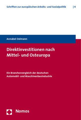 Oelmann | Direktinvestitionen nach Mittel- und Osteuropa | Buch | sack.de