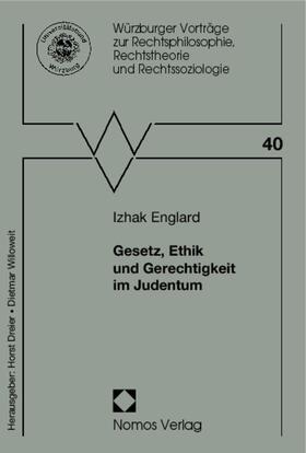Englard | Gesetz, Ethik und Gerechtigkeit im Judentum | Buch | sack.de