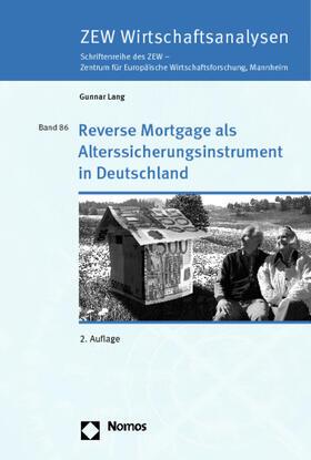Lang | Reverse Mortgage als Alterssicherungsinstrument in Deutschland | Buch | sack.de