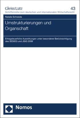 Schweda | Umstrukturierungen und Organschaft | Buch | sack.de