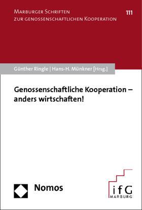 Ringle / Münkner | Genossenschaftliche Kooperation - anders wirtschaften! | Buch | sack.de