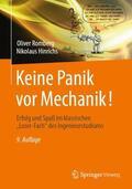 Romberg / Hinrichs    Keine Panik vor Mechanik!   Buch    Sack Fachmedien