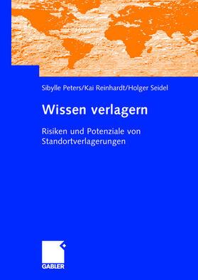 Peters / Reinhardt / Seidel   Wissen verlagern   Buch   sack.de