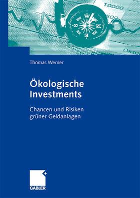 Werner | Ökologische Investments | Buch | sack.de