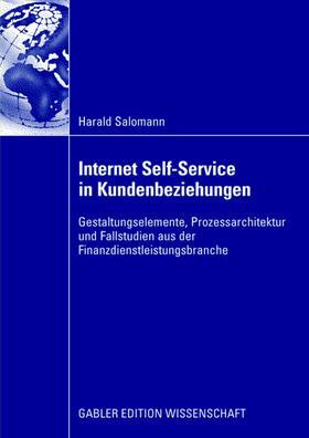 Salomann | Internet Self-Service in Kundenbeziehungen | Buch | sack.de