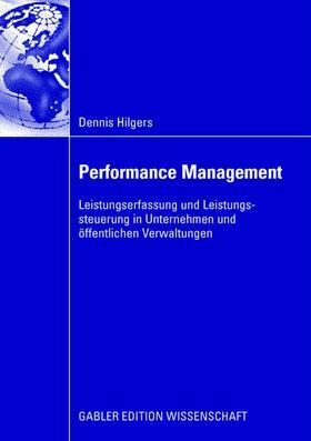 Hilgers | Performance Management | Buch | sack.de