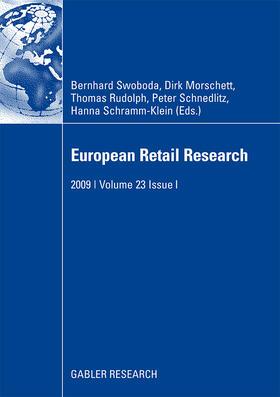 Swoboda / Morschett / Schramm-Klein   European Retail Research   Buch   sack.de