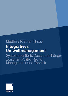 Kramer   Integratives Umweltmanagement   Buch   sack.de
