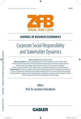 Schwalbach | Corporate Social Responsibility and Stakeholder Dynamics | Buch | sack.de